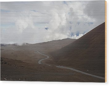 Wood Print featuring the photograph The Road To The Snow Goddess by Ryan Manuel