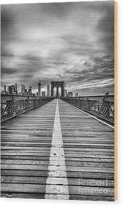 The Road To Tomorrow Wood Print by John Farnan