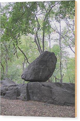 The Rock Wood Print by ThiART ThiART