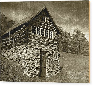 Wood Print featuring the photograph The Root Cellar by Pete Hellmann