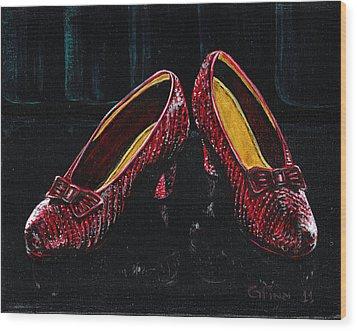 The Ruby's Wood Print