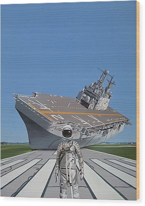 The Runway Wood Print by Scott Listfield
