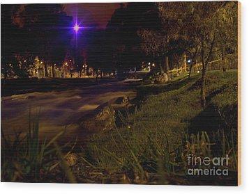 Wood Print featuring the photograph The Rushing Rio Tomebamba IIi by Al Bourassa