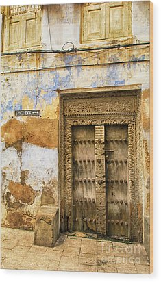 The Rustic Door Wood Print