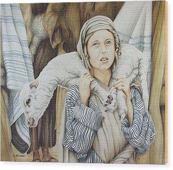 The Sacrifice Wood Print by Rick Ahlvers
