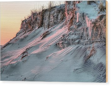 The Sands Of Time Wood Print by JC Findley