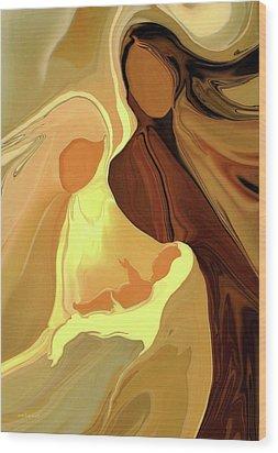 The Saviour Is Born Wood Print