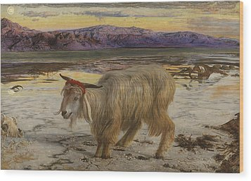 The Scapegoat Wood Print by William Holman Hunt