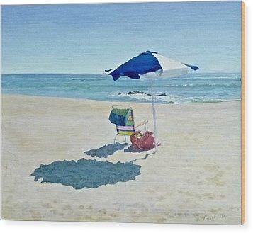 The Sea Air Wood Print