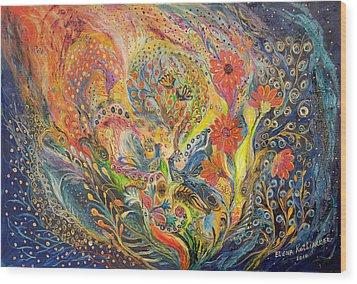 The Sea Dream Wood Print by Elena Kotliarker