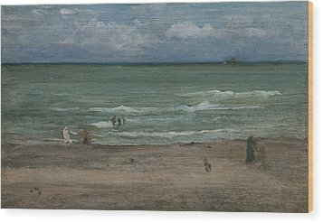 The Sea Wood Print by James Abbott McNeill Whistler