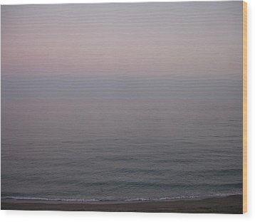 The Sea Oh The Sea Wood Print by Roger Cummiskey