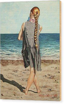 The Secret Beauty - La Belleza Secreta Wood Print