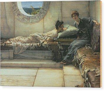 The Secret Wood Print by Sir Lawrence Alma-Tadema