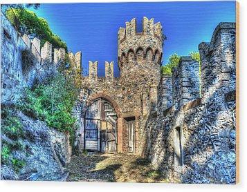 The Senator Castle - Il Castello Del Senatore Wood Print