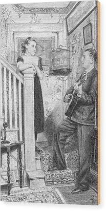 The Serenade Wood Print by Douglas Kochanski