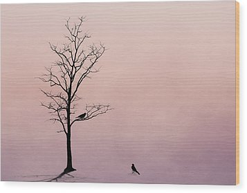 Wood Print featuring the photograph The Serenade by Tom Mc Nemar