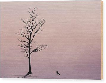 The Serenade Wood Print