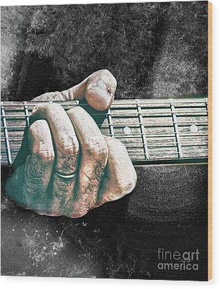 The Seventh Chord  Wood Print by Steven Digman