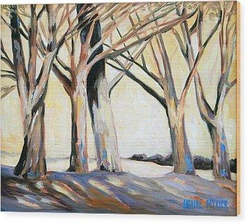 The Shadows Wood Print