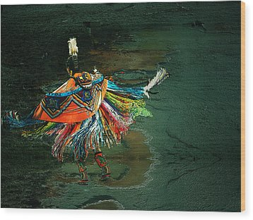 The Shaman Wood Print by Irma BACKELANT GALLERIES