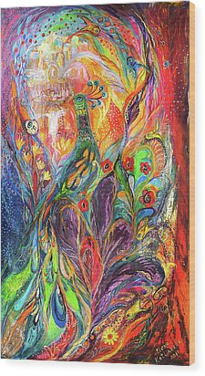 The Shining Wood Print by Elena Kotliarker