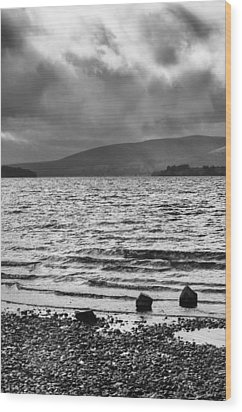 Wood Print featuring the photograph The Shores Of Loch Lubnaig by Christi Kraft
