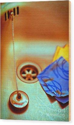 The Sink Wood Print by Silvia Ganora