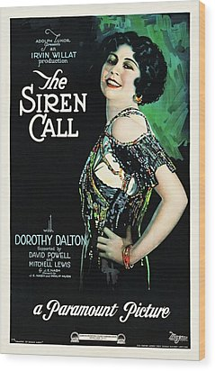The Siren Call Wood Print by Paramount