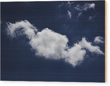 Wood Print featuring the photograph The Sky Is The Limit by Michael Albright