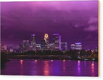 The Sky Was So Purple...  Wood Print by Mark Goodman