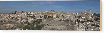 Wood Print featuring the photograph The Skyline Of Toledo Spain by Farol Tomson