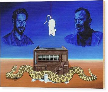 The Snake Wood Print