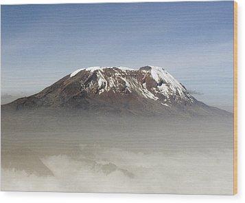 The Snows Of Kilimanjaro Wood Print