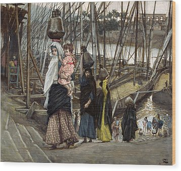 The Sojourn Wood Print by Tissot