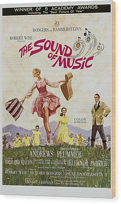 The Sound Of Music, Poster Art, Julie Wood Print by Everett