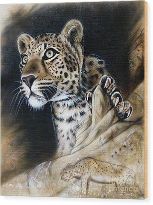 The Source IIi Wood Print by Sandi Baker