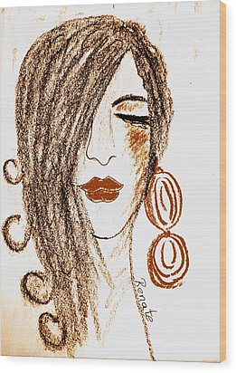 The Spanish Woman.... Wood Print