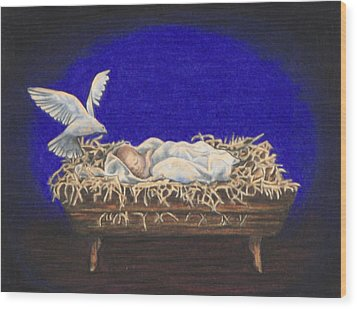 The Spirit Of Peace Wood Print by Laurie Tietjen