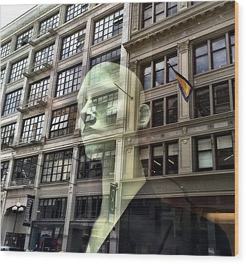 The Spirit Of San Francisco Wood Print