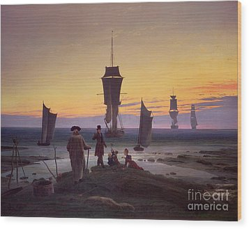 The Stages Of Life Wood Print by Caspar David Friedrich