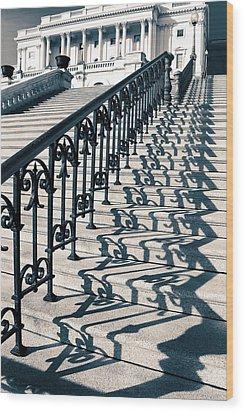 The Stairway Wood Print