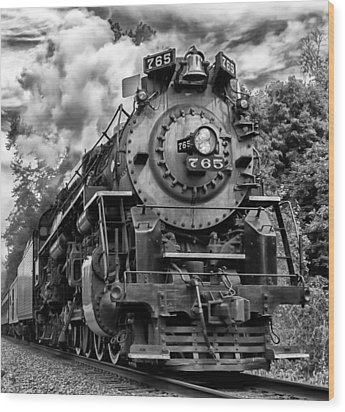 The Steam Age  Wood Print