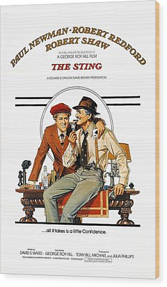 The Sting, The, Robert Redford, Paul Wood Print by Everett
