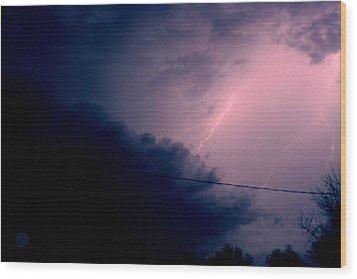 The Storm 1.1 Wood Print