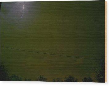 The Storm 2.1 Wood Print