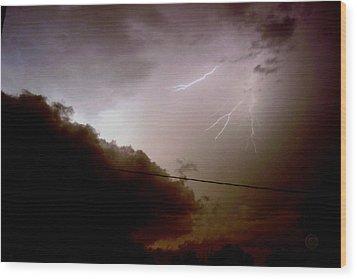 The Storm 2.5 Wood Print