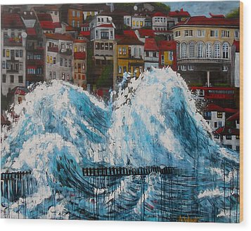 The Storm- Large Work Wood Print