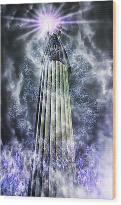 The Stormbringer Wood Print by John Edwards