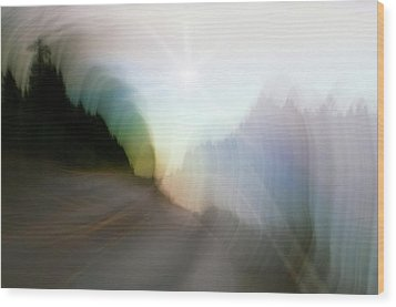 The Street Of Fantasy Wood Print by Heiko Koehrer-Wagner